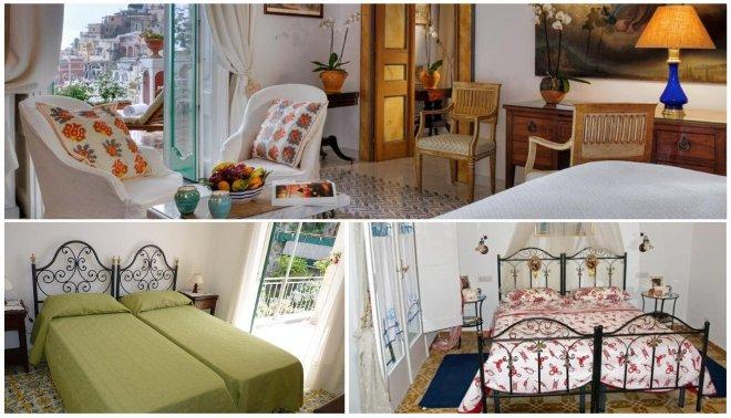 Los mejores hoteles en Costa Amalfitana