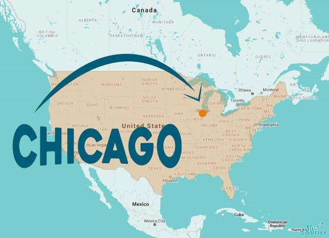 ubicación de chicago