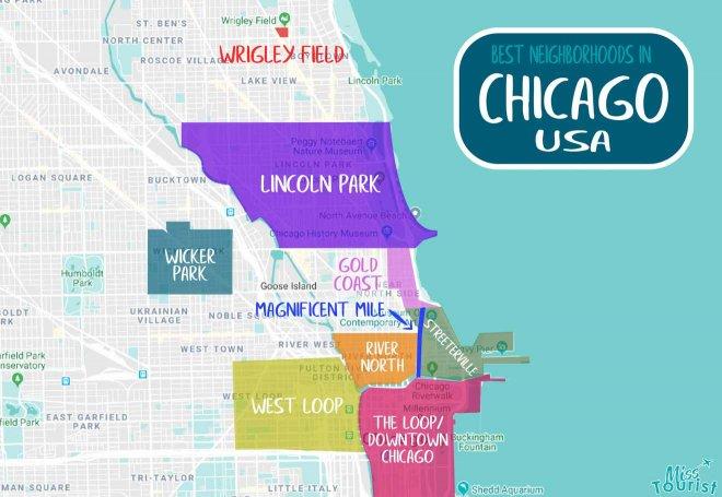 regiones de chicago