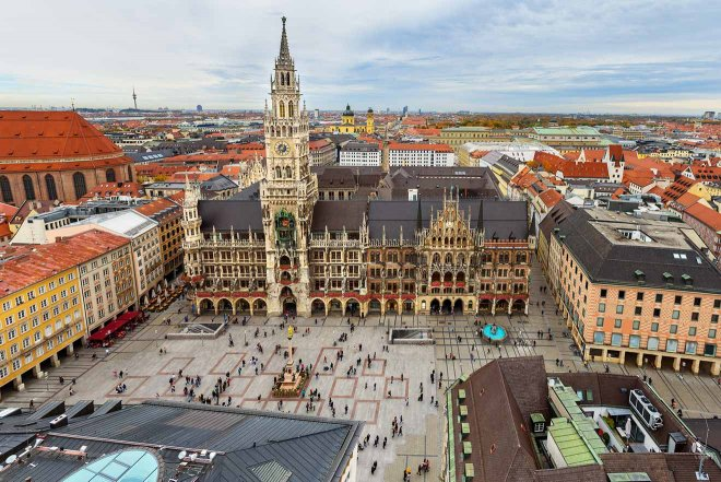 plaza de munich