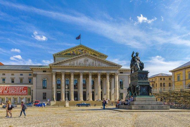 famoso edificio de munich