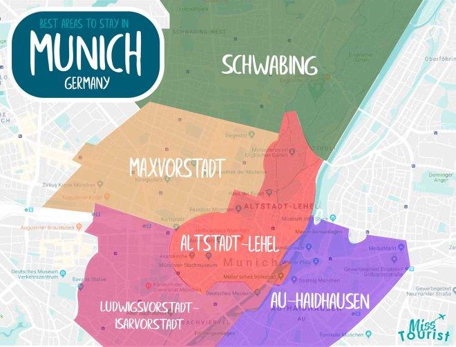 regiones de munich