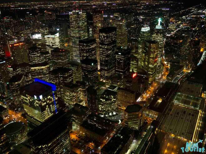 Toronto, Canadá, ciudad desde arriba