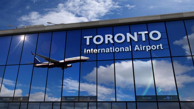 aeropuerto internacional de toronto canadá