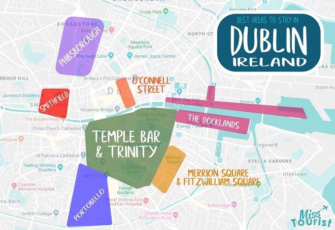 barrios de Dublín