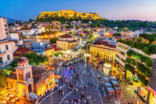 dónde alojarse en Atenas
