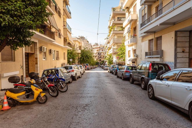 Atenas, calle central