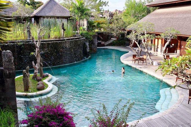 Ciudad de Ubud en Bali