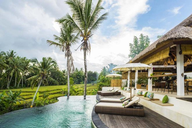 mejor hotel en ubud para luna de miel