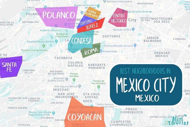 mapa de la ciudad de mexico