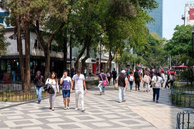 calle de la ciudad de mexico