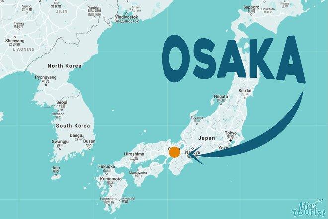 donde alojarse en Osaka