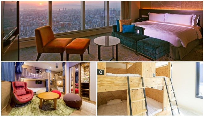 hoteles de lujo en osaka