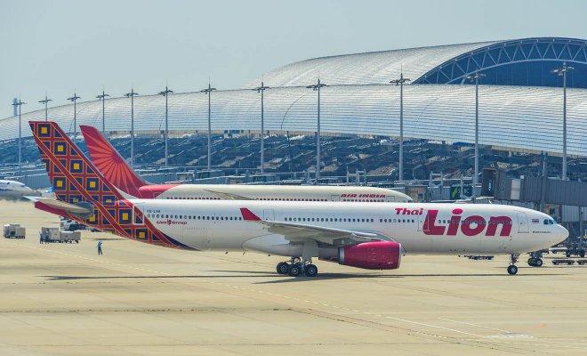 avión en japón