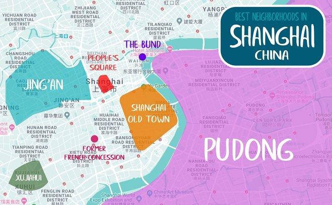 áreas de shanghai