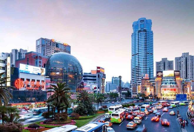 distritos de Shangai