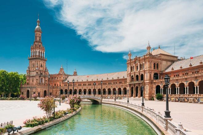 Sevilla españa agua