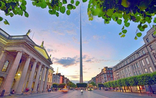 Dublín Irlanda Street
