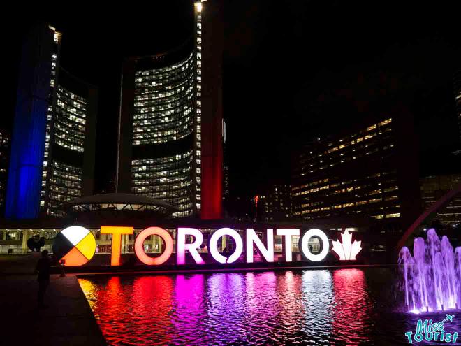 Toronto de noche