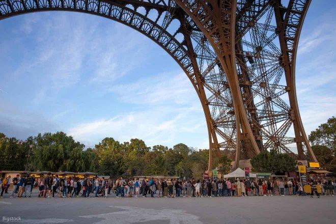 Evita las colas Torre Eiffel