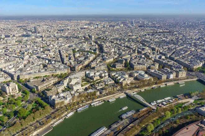 ciudad de paris francia