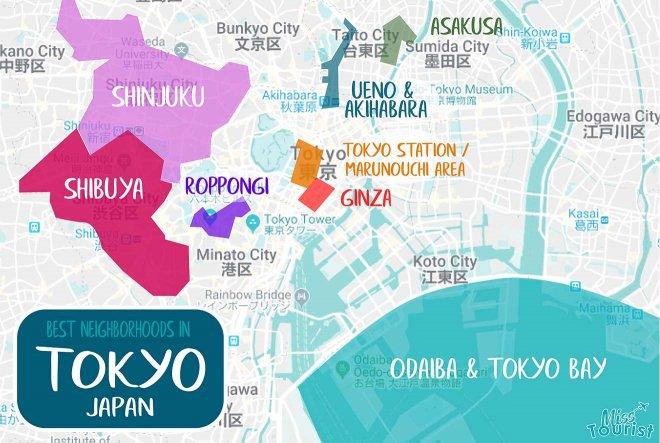 regiones de tokio