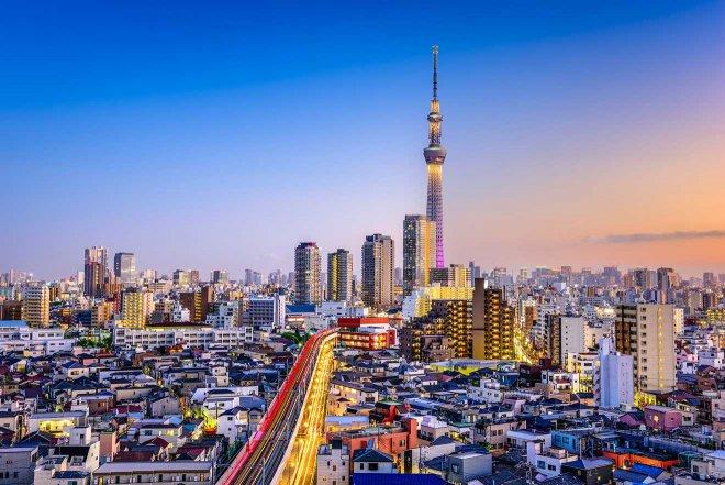 en qué vecindario quedarse en Tokio
