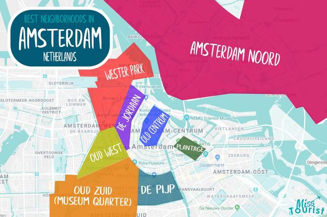 Mapa de Amsterdam
