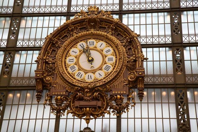 reloj en el Musée d & # 39; Orsay