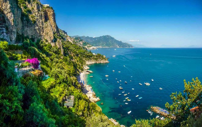paisaje de italia