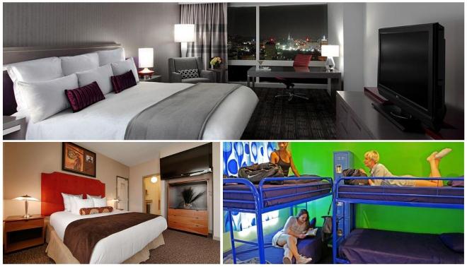 hoteles de hollywood