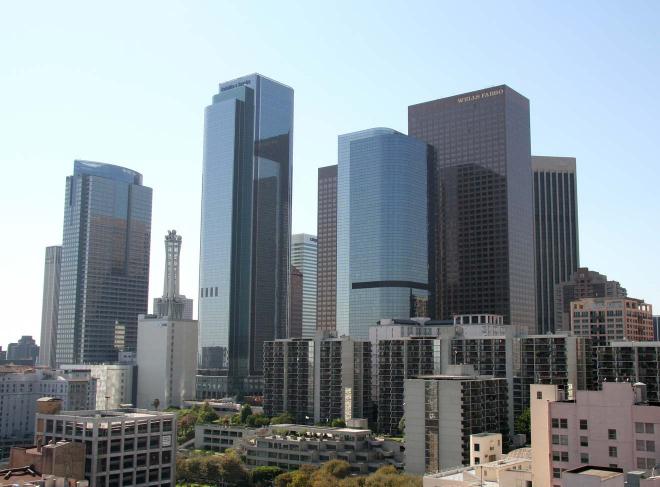 rascacielos del centro