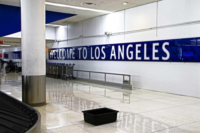 el aeropuerto de la