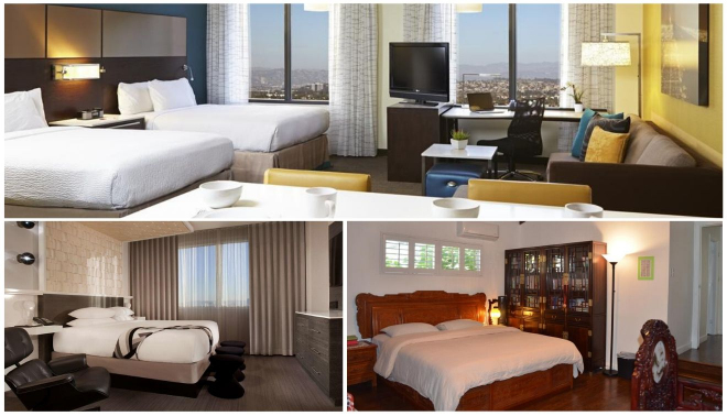 hoteles en hollywood