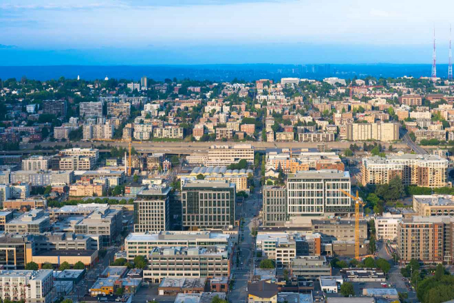 donde alojarse en Seattle