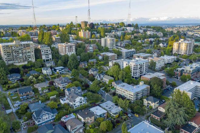 donde alojarse en el centro de Seattle