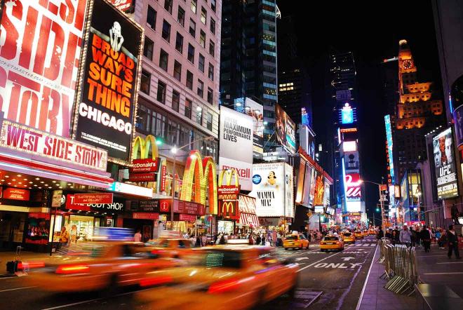 Teatros de Broadway