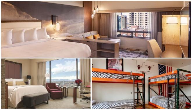 los mejores hoteles en Denver para parejas