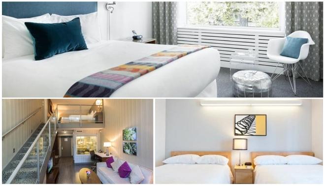 Hoteles con suites en Vancouver
