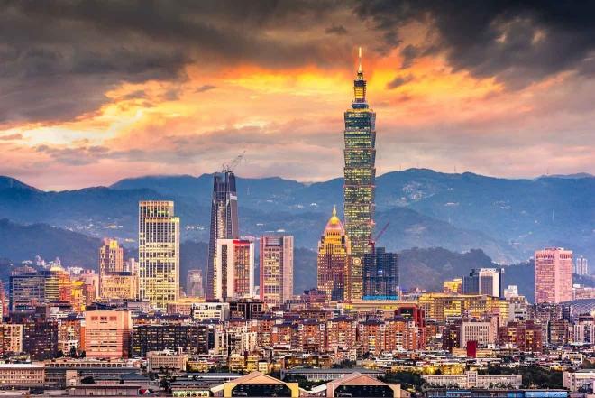 paisaje urbano de Taiwán
