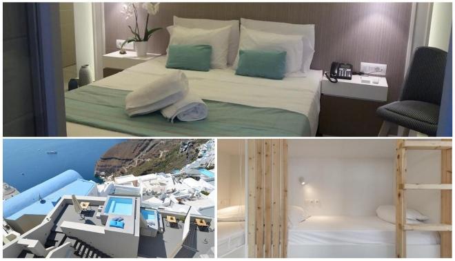 el mejor alojamiento en Santorini