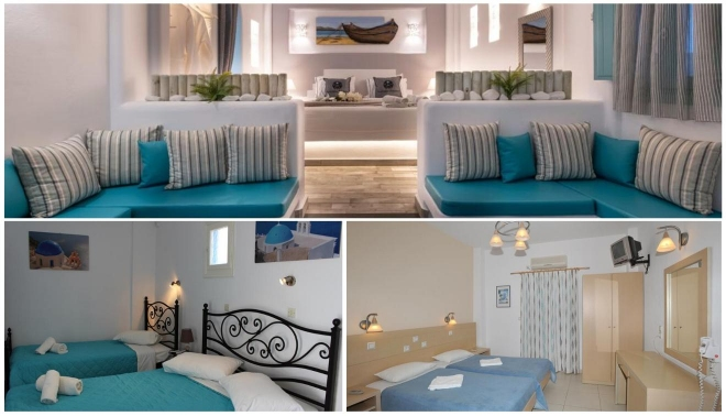 hoteles santorini