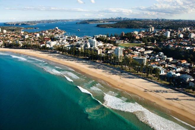 propiedad frente al mar australia