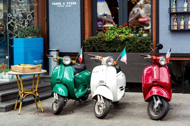 alquiler de motos roma