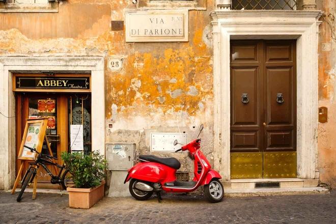 Vespa Roma