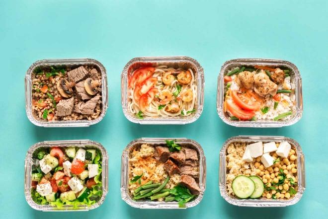 entrega de comida saludable