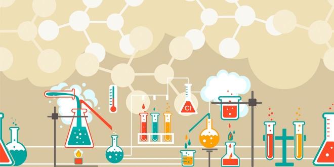infographie de chimie