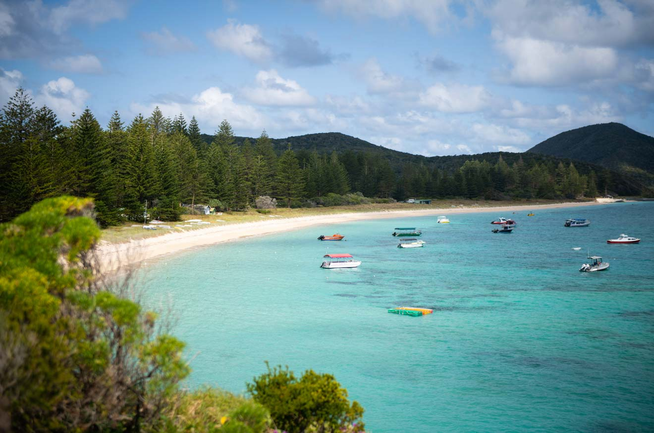 Lagoon Beach Lord Howe Island NSW AU