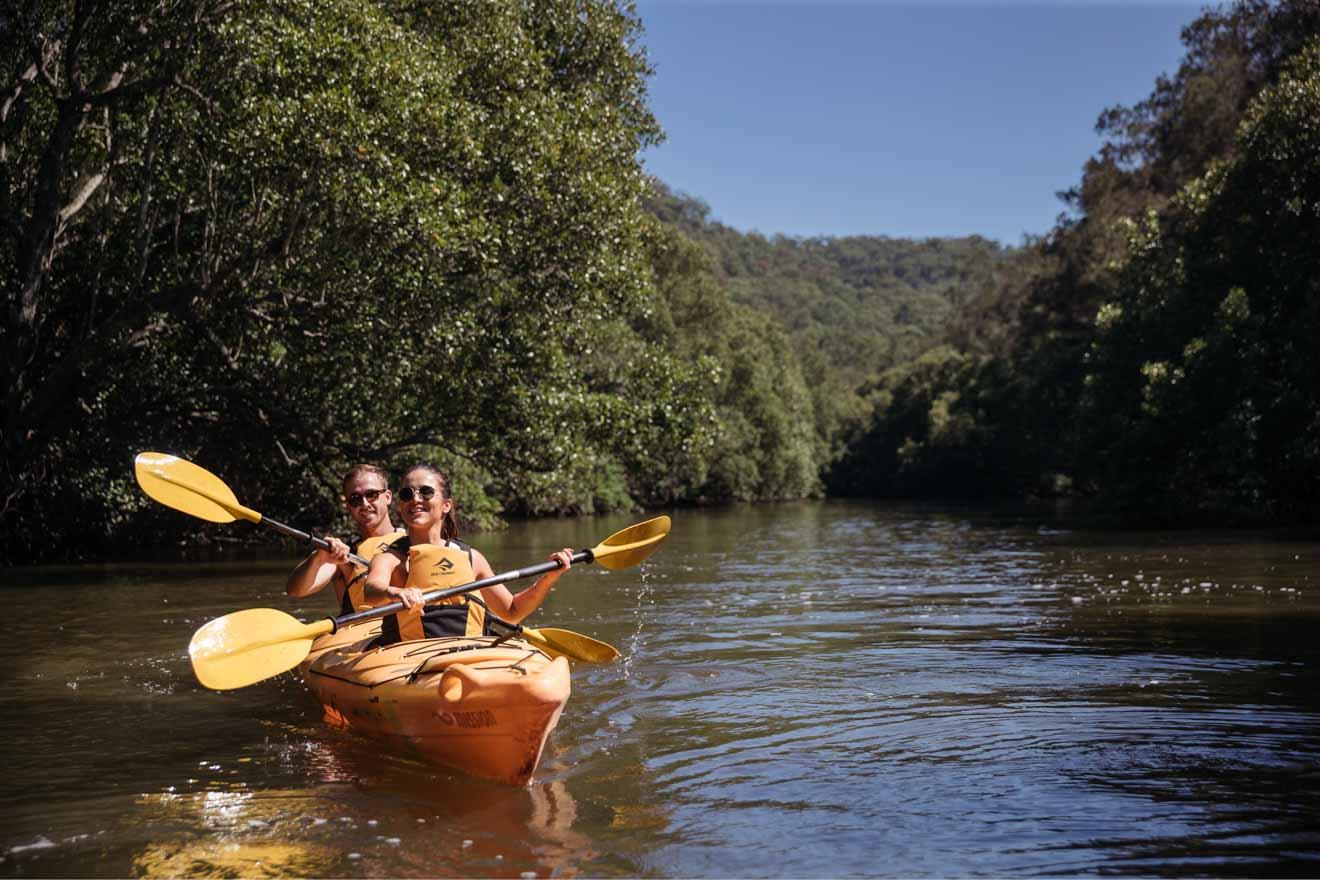 Kayak, Glenworth Valley Actividades