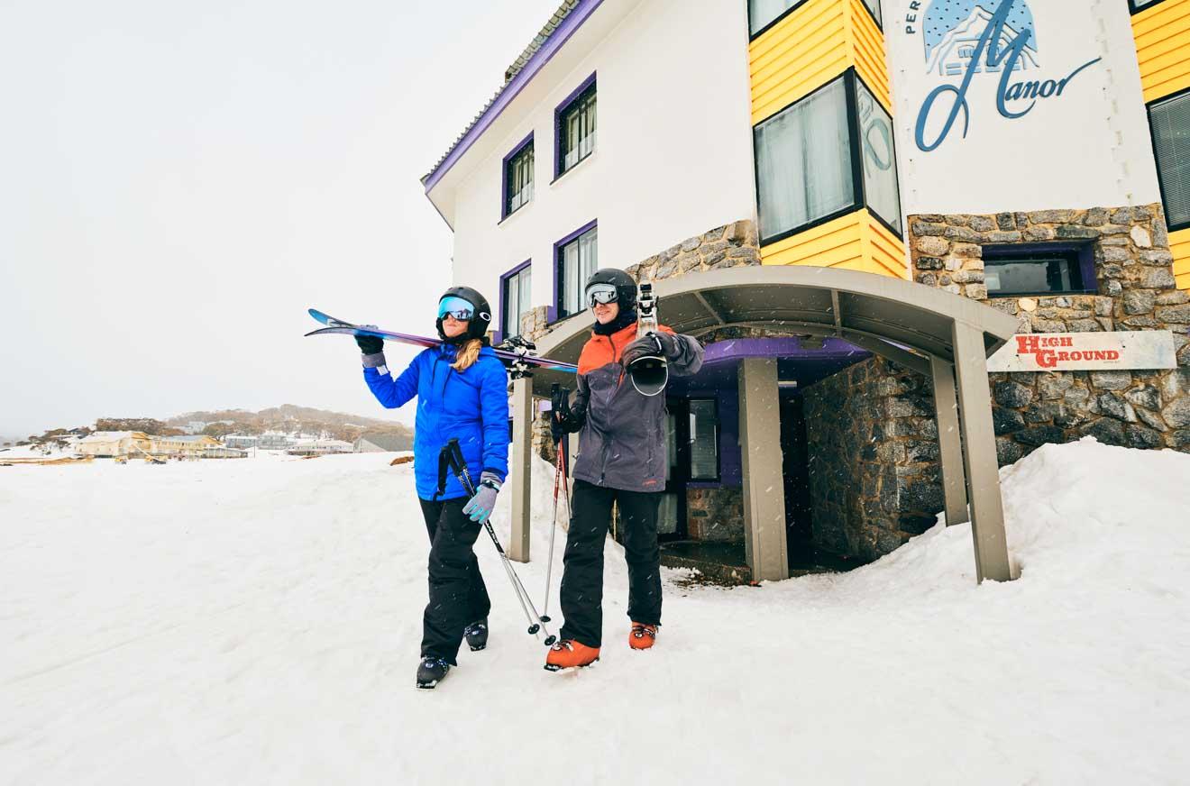 Perisher en las montañas nevadas Alpine Hotel